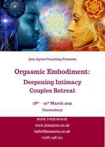 Jem Ayres Sexological Bodyworker & Tantra Coach on log